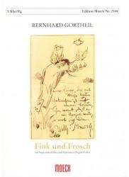Finch and Frog [Fink und Frosch]
