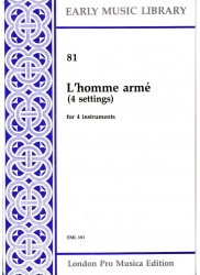 L'homme arme (4 settings)