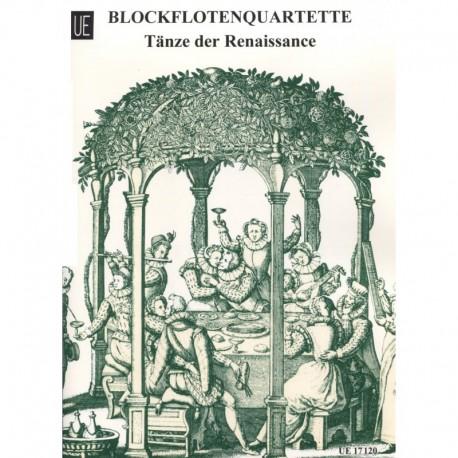 Blockfloten Quartette Tanze der Renaissance - Recorder Quartets, Vol 3, Dances of the Renaissance