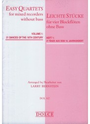 Easy Quartets without Bass Vol 1