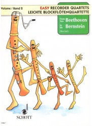 Easy Quartets from Beethoven to Bernstein