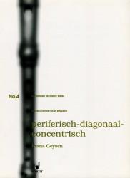 Peripheral-Diagonal-Concentric