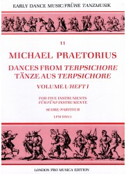 Dances from Terpsichore: Vol 1