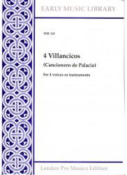4 Villanelle from the Cancionero de Palacio