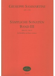 Samtliche Sonaten Band 3