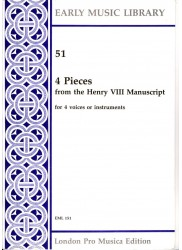 4 Pieces from the Henry V111 Manuscript