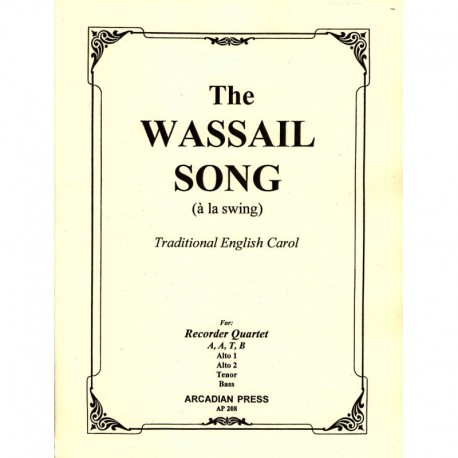 The Wassail Song (a la swing)