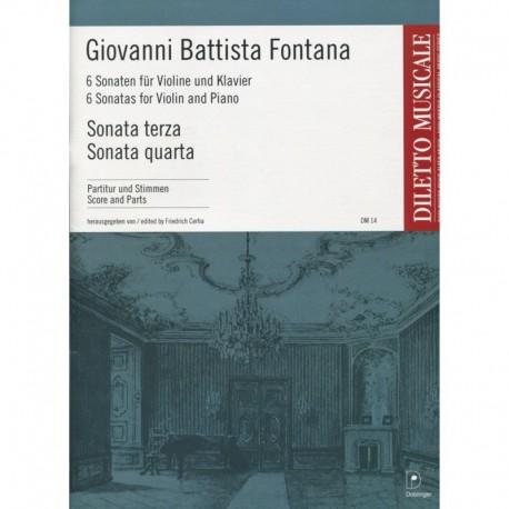 Sonata Terza, Sonata Quarta