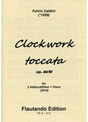 Clockwork Toccata Op. 68/M  2014
