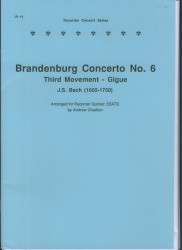 Brandenburg Concerto No. 6, Third Movement