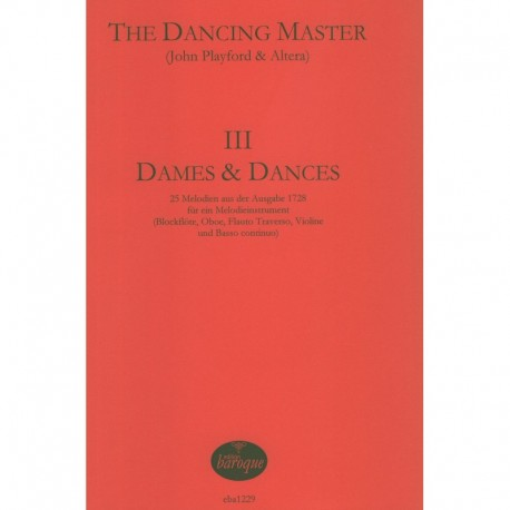 The Dancing Master III Dames and Dances