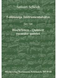 5-stimmige Instrumentalsatze