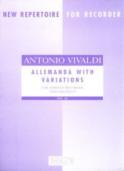 Allemanda with Variations after RV19