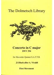 Concerto in C Major BWV 594