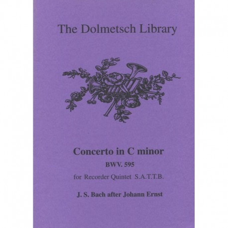 Concerto in C minor BWV 595