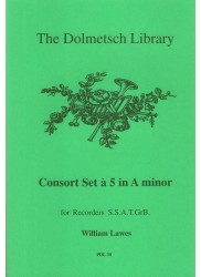 Consort set No. 5 in A minor