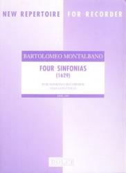 Four Sinfonias (1629)