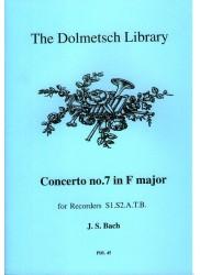 Concerto No7 in F Major