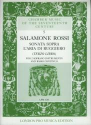 Sonata Sopra L'Aria di Ruggiero (Terzo Libro)