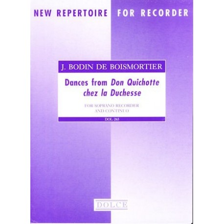 Dances from Don Quichotte chez la Duchesse