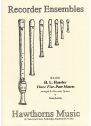 Three 5-Part Motets