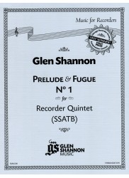 Prelude & Fugue No. 1 for Recorder Quintet