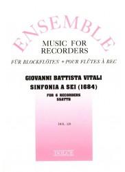 Sinfonia a sei (1684)