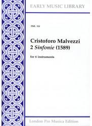 2 Sinfonie (1589)