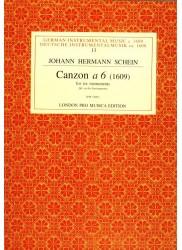 Canzon a 6 (1609)