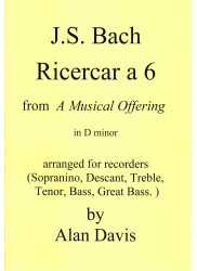 Ricercar a 6 in d minor BWV1079