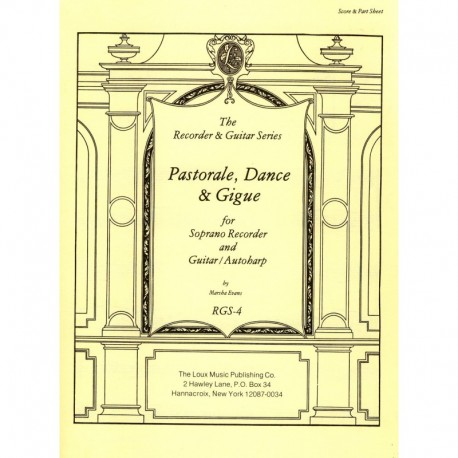 Pastorale, Dance & Gigue