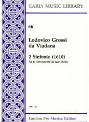 2 Sinfonie (1610)