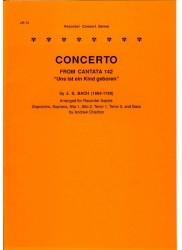 """Concerto from Cantata 142, """"Uns ist ein Kind geboren"""""""