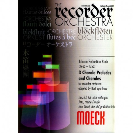 Three Chorale Preludes and Chorales