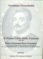 """3 Canzonas from """"Il Primo Libro delle Canzoni (1628/1634)"""""""