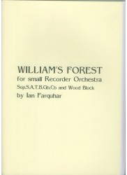 William's Forest for small Recorder Orchestra