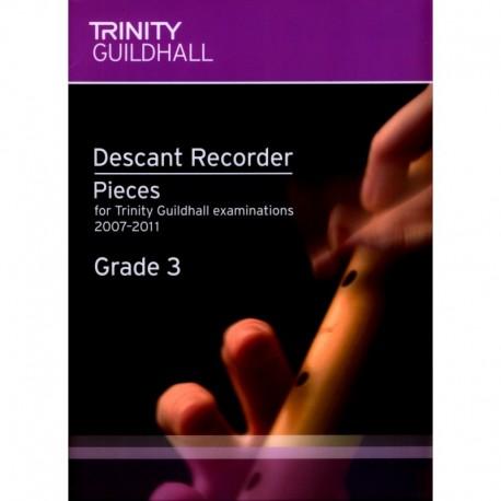 Descant Recorder Exam Book Grade 3 (Trinity Guildhall Examinations 2007-2011)