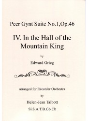 Peer Gynt Suite No. 1, Op. 46. IV.  In the Hall of the Mountain King