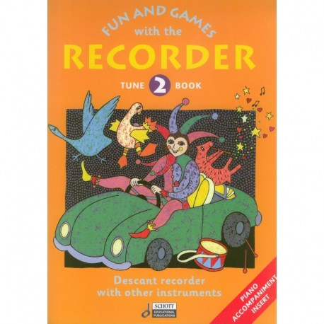 Fun and Games with the Recorder Tune Book Vol 2