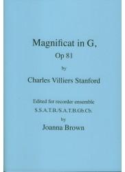 Magnificat in G, Op 81