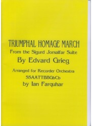 Triumphal Homage March from the Sigurd Jorsalfar Suite