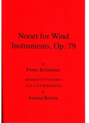 Nonet for Wind Instruments Op. 79