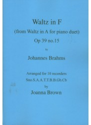 Waltz in F Op. 39, No. 15