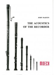 The Acoustics of the Recorder