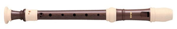 Haka Descant Recorder with Wood-grain finish
