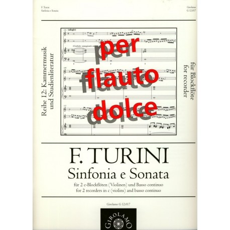 Sinfonia and Sonata
