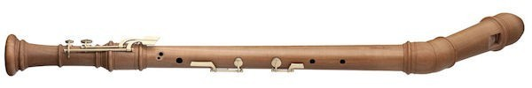 Superio Knick Bass Recorder in Pearwood