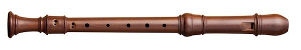 Superio Treble Recorder in Plumwood
