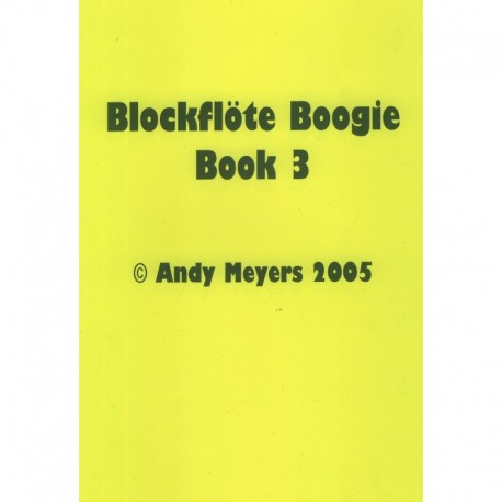 Blockflote Boogie Book 3