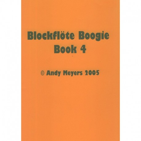 Blockflote Boogie Book 4